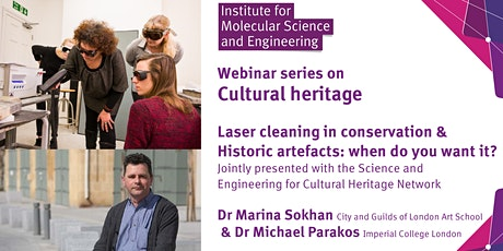 Laser Cleaning in Conservation / Historic Artefacts: when do you want it? tickets