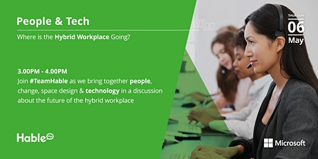 People & Tech: Where is the Hybrid Workplace going? tickets