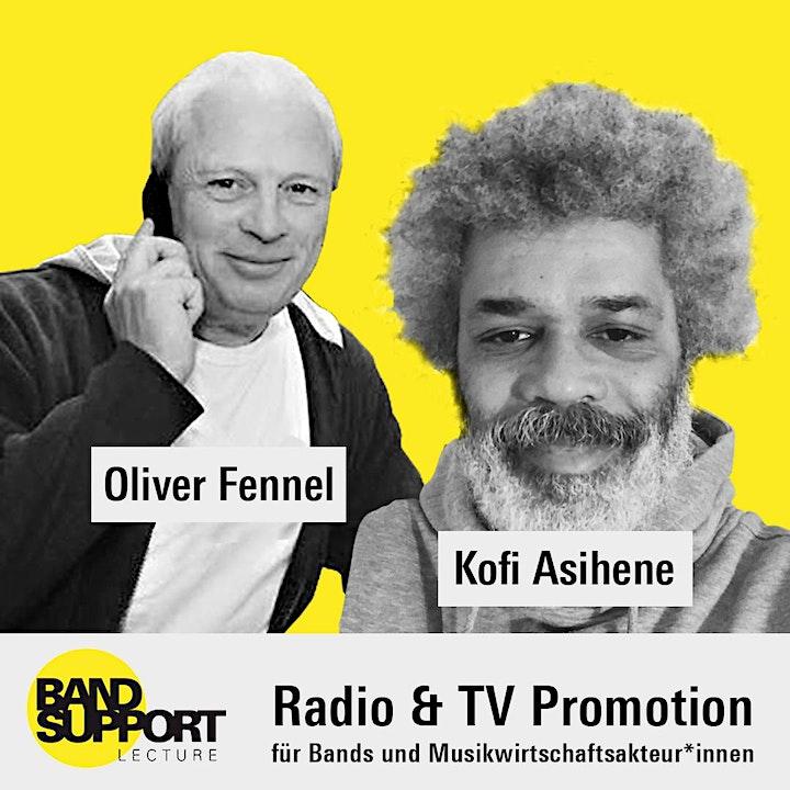 Bandsupport - LECTURE #1 - Radio und TV Promotion im Bereich Musik: Bild