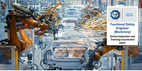 Functional Safety Engineer (FSeng) for the Machinery Sector - Online tickets