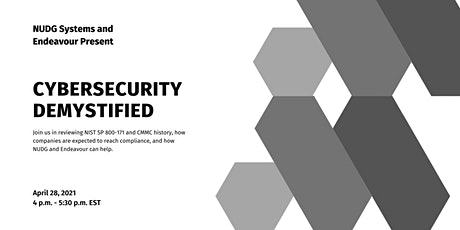 NUDG Systems and Endeavour Present: Cybersecurity Demystified tickets