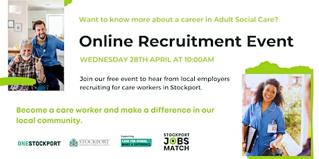 Work in Adult Social Care - Recruitment Event tickets