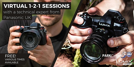 Wildlife Photography virtual 1-2-1 sessions with Panasonic tickets