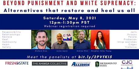 Beyond Punishment and White Supremacy tickets