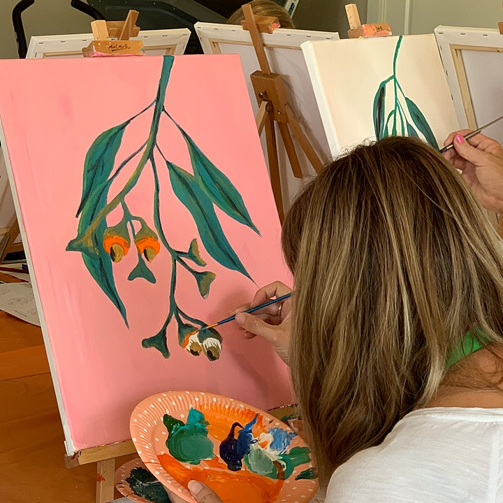 Street Scapes Paint & Sip  (Mother's Day) image