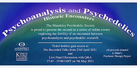 Psychoanalysis and Psychedelics: Historic Encounters tickets