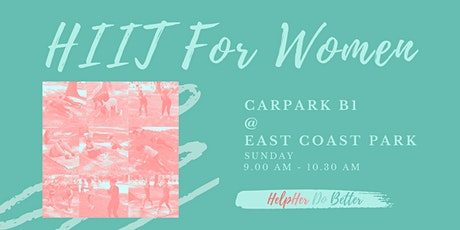 HIIT For Women @ East Coast Park tickets