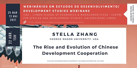 The Rise and Evolution of Chinese Development Cooperation ingressos