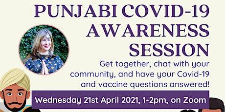 Punjabi Talk Session Covid-19 Awareness tickets
