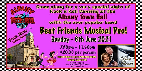 Albany Rock n Roll - Town Hall Dance tickets