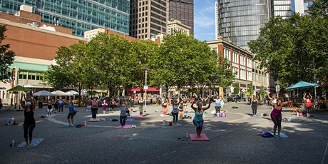 Yoga in the Square 2021 tickets