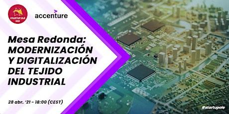 Modernización y digitalización del tejido industrial entradas