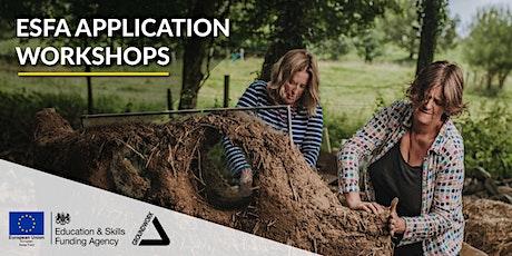 ESFA Application Training Workshops - May 2021 tickets