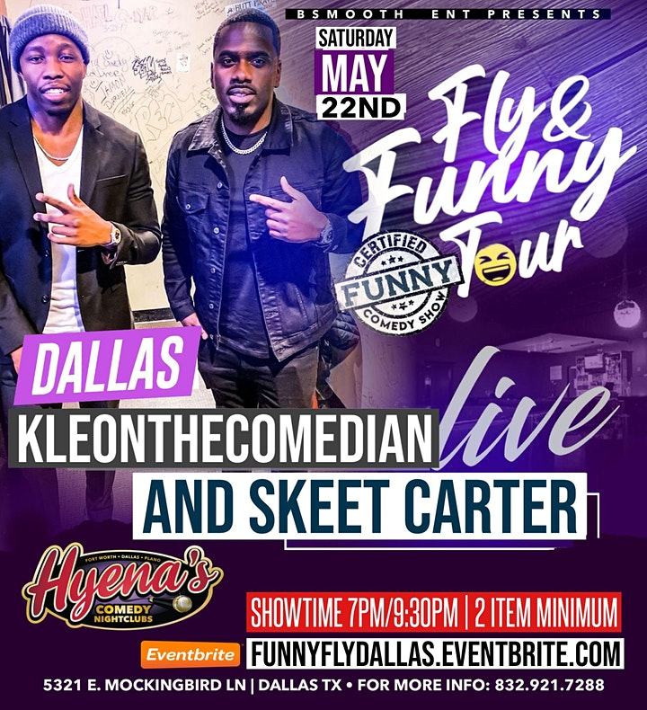 Dallas Tx Certified Funny Comedy Show Starring Fly & Funny Comedy Tour image