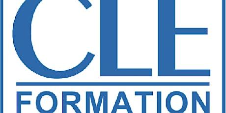 Cycle de formation avec Cle International billets