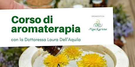 Corso di Aromaterapia bilhetes