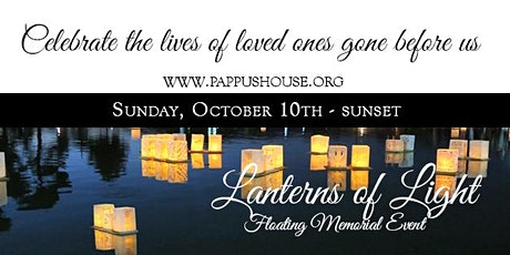 3rd Annual Lanterns of Light Floating Memorial Event tickets
