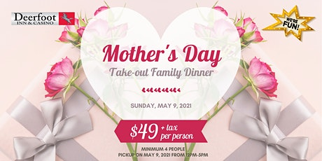 Mother's Day Family Dinner - Pick Up tickets