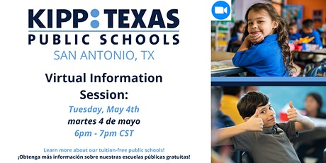 KIPP Texas San Antonio Info Session tickets