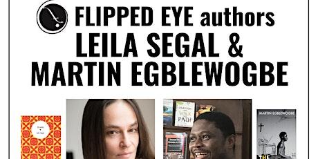 livestream: Flipped Eye authors Leila Segal & Martin Egblewogbe tickets