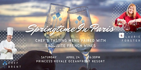 Springtime In Paris - French Wine Dinner w/ Laurie Forster tickets