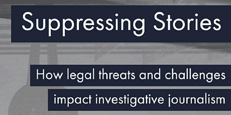 Suppressing Stories - Upcoming event  to mark World Press Freedom Day tickets