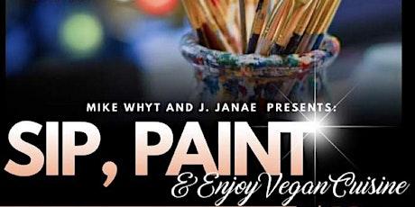 Sip, Paint and Enjoy Vegan Cuisine tickets