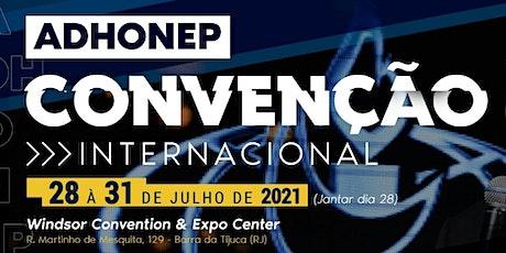 Convenção ADHONEP 2021 tickets