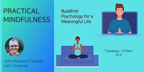 Tuesday Morning Meditation – an online meditation class tickets