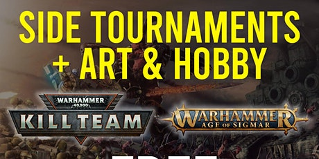 Side Tournaments and Art & Hobby Expo tickets