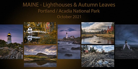 MAINE / Lighthouses & Autumn Leaves tickets