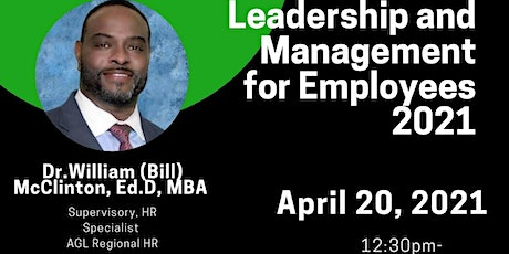Leadership and Management Skills for Employees tickets