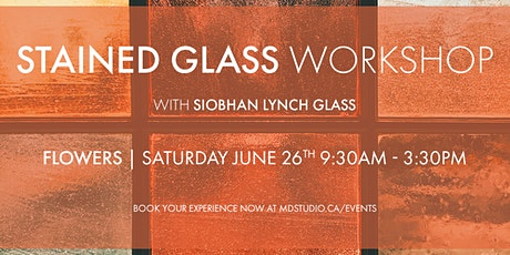Stained Glass Workshop - Flowers and Blooms tickets