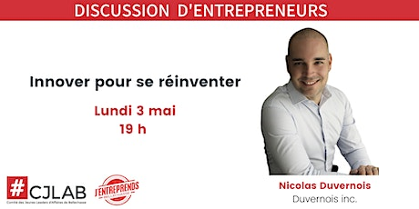 Discussion d'entrepreneurs billets