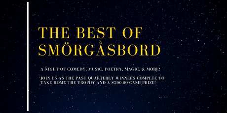 The Best of Smorgasbord | Talent Showcase tickets