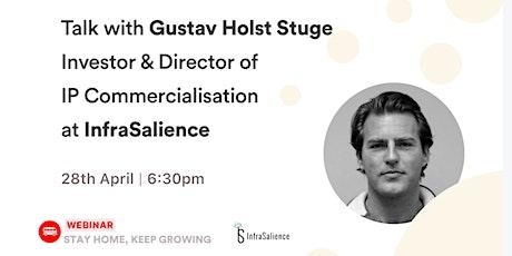 [Talk] Gustav Stuge - Director of IP Commercialisation at InfraSalience tickets