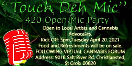 420 'Touch Deh Mic' Fete tickets