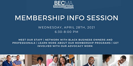 BECMA Membership Info Session tickets