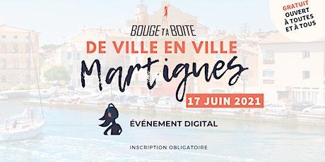 Bouge ta Boite de ville en ville à Martigues billets