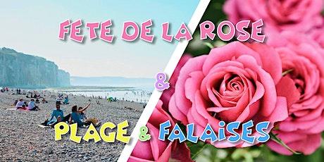 Fête de la Rose 2021 & Falaises normandes - 5 septembre billets