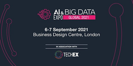 AI & Big Data Expo Global 2021 tickets