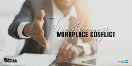 Transforming Workplace Conflict Live Virtual Training tickets