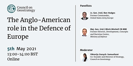 The Anglo-American role in the Defence of Europe tickets