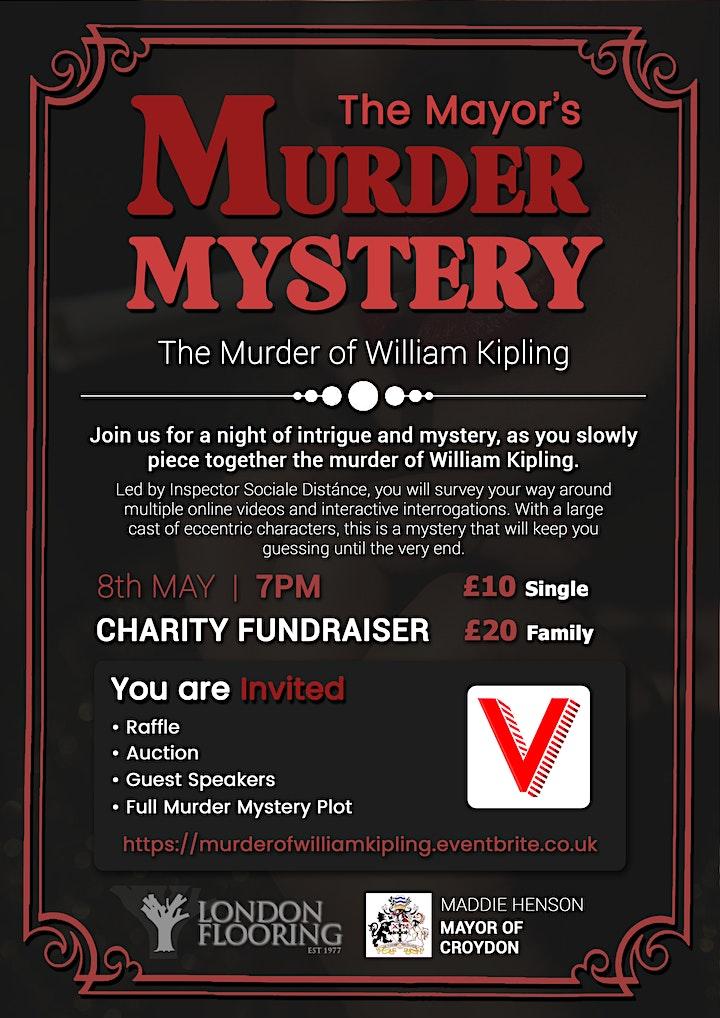 The Mayor's Murder Mystery - The Murder of William Kipling image