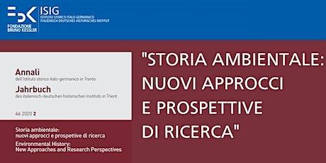 Presentazione degli Annali  dell'Istituto Storico Italo-Germanico biglietti