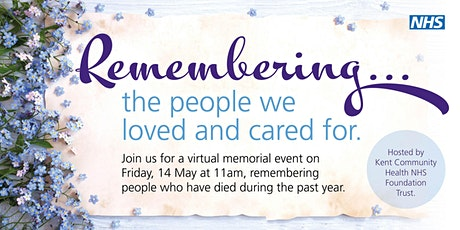 Remembering... the people we loved and cared for tickets