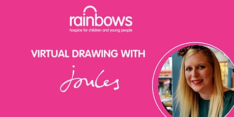 Virtual Drawing Lesson with Joules tickets