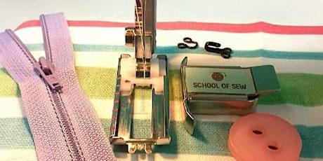 Fasten Up - School of Sew tickets