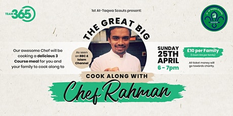 The Great Big Cook along with Chef Rahman tickets