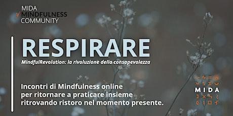 RESPIRARE - MIDA Mindfulness Community biglietti